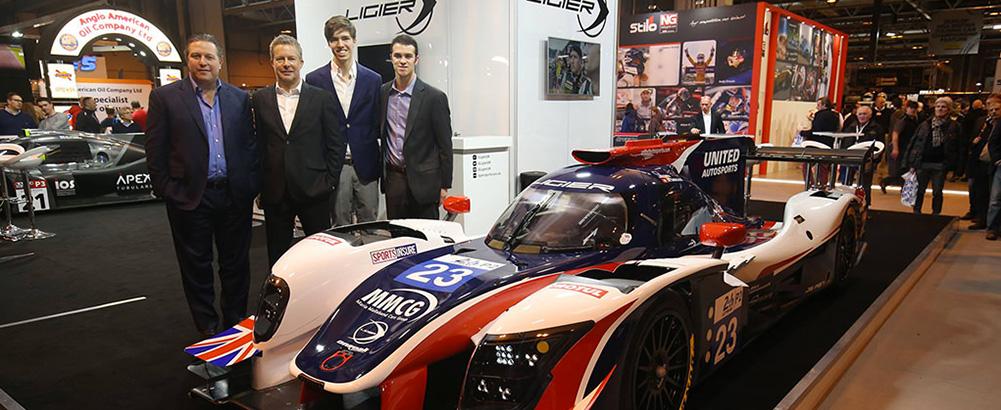 Hugo de Sadeleer joins United Autosports in the LMP2 category