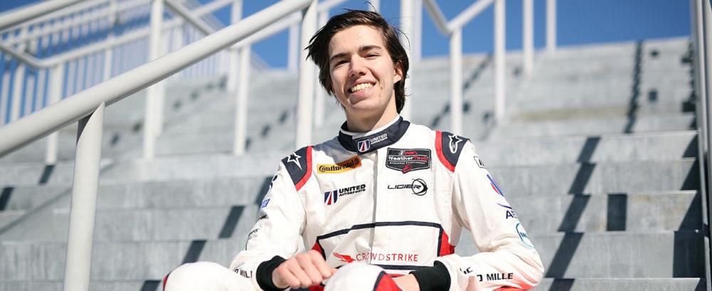 24 Hours of Daytona – Successful tests for Hugo de Sadeleer and Team United Autosports