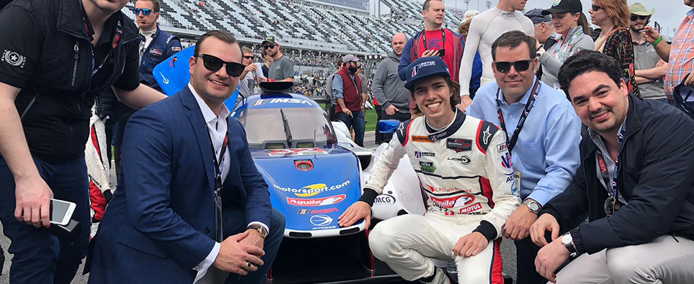 Hugo de Sadeleer and Team United Autosports shine at the 24 Hours of Daytona