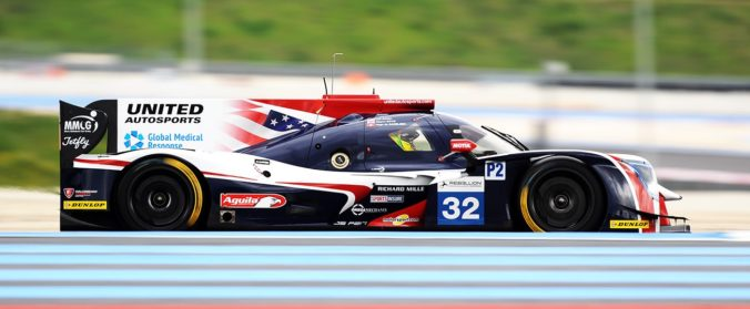 #32 William Owen / Hugo de Sadeleer / Wayne Boyd UNITED AUTOSPORTS D Ligier JSP217 - Gibson