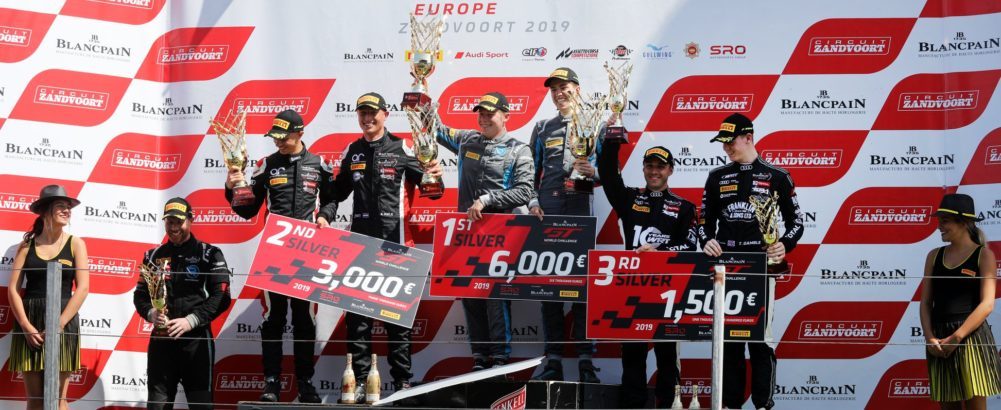 Blancpain GT Series in Zandvoort – a triumph for Hugo
