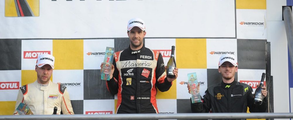Radical Challenge: Another victory for Jerome at Brands Hatch
