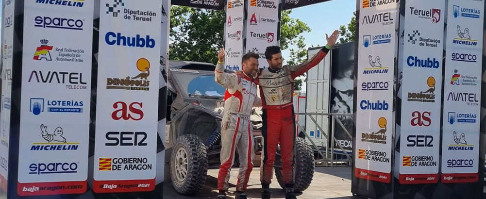 First Rally Raid BAJA SPAIN – First podium for Jerome de Sadeleer and Michael Metge