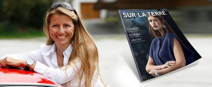 """Isabelle de Sadeleer interviewé par le magazine Suisse """"Sur La Terre"""""""
