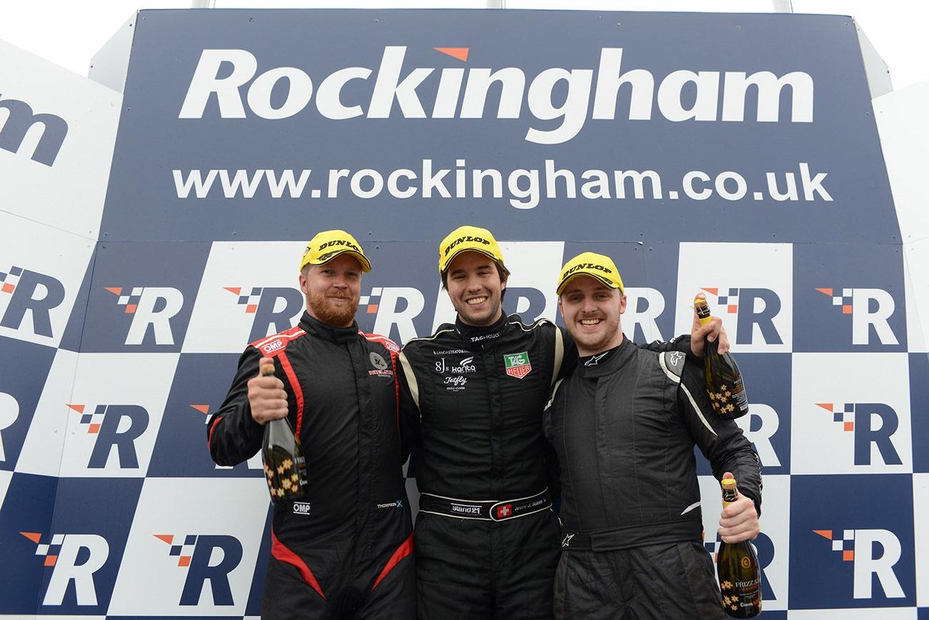 Jérôme de Sadeleer brille à Rockingham en Radical SR1 Cup