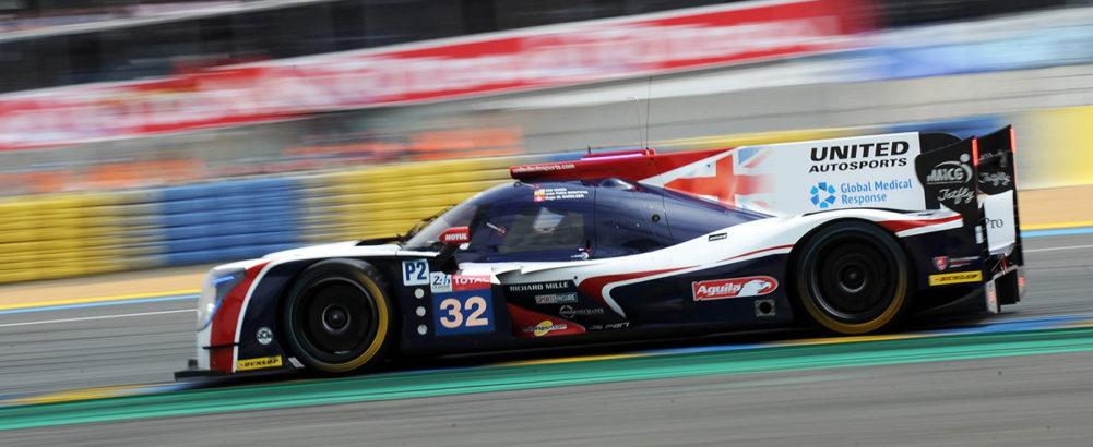 Hugo et United Autosports sur le podium des 24 Heures du Mans !