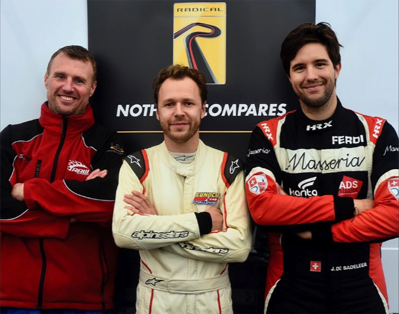 Jérôme de Sadeleer - Silverstone 2018