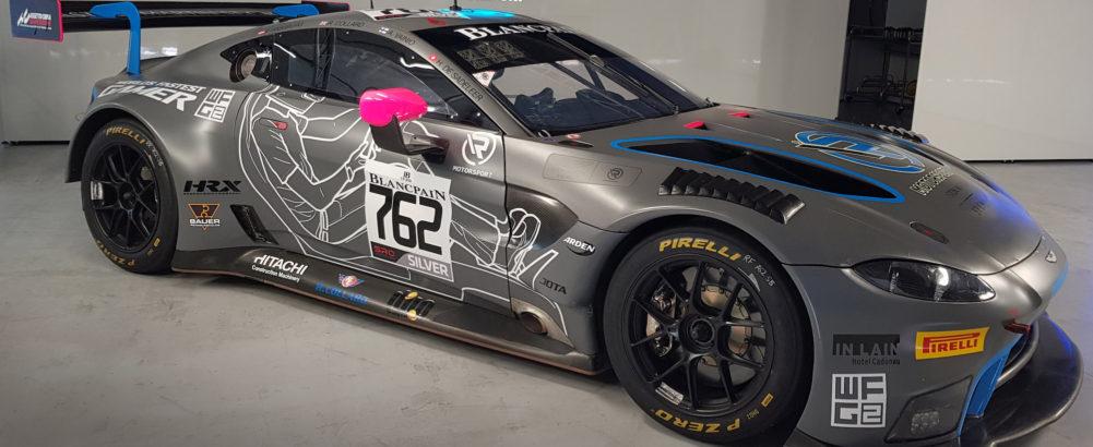 Découvrez le design spécial de l'Aston Martin Vantage d'Hugo de Sadeleer pour les 24 Heures de Spa
