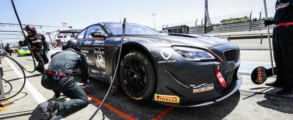 (Français) Le Team Boutsen Ginion Racing sur la piste pour les Total 24 Hours of Spa