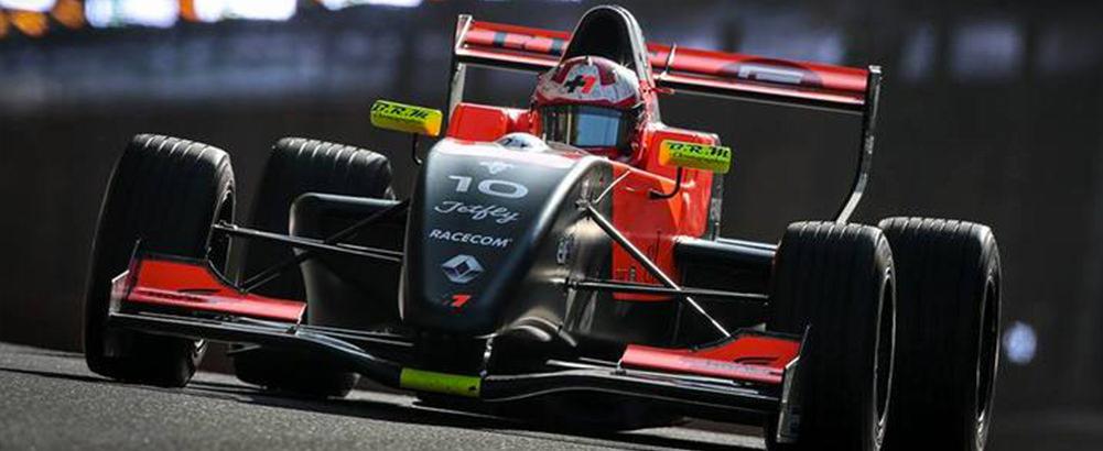 (Français) Hugo De Sadeleer au départ du Formula Renault 2.0 Northern European Cup à Spa