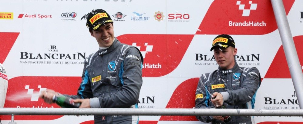 Blancpain GT Series: a third place for Hugo